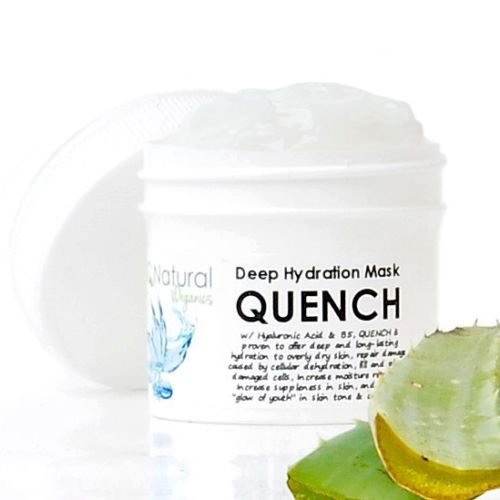 Wrinkle QUENCH Facial Hydaration Mask Hyaluronic Acid Aloe Vera Vitamins B5 A E(2oz)