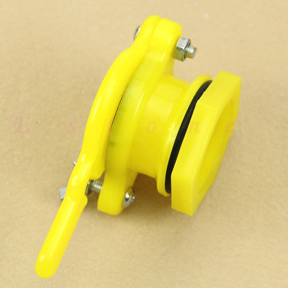 Yellow Honey Tap Beekeeping Bottling Nylon Honey Gate Valve Honey Extractor Tool