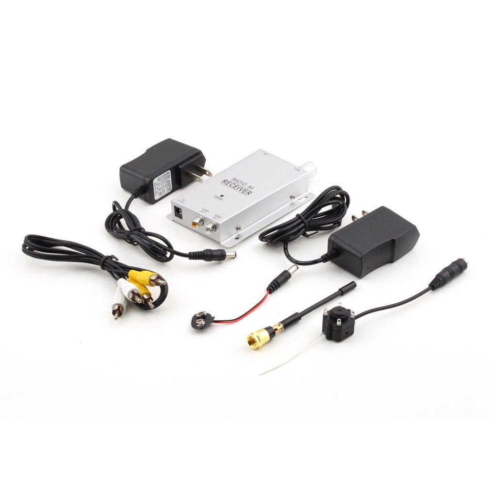 Hidden Pinhole Mini Wireless Nanny Camera CCTV Security Video Surveillance