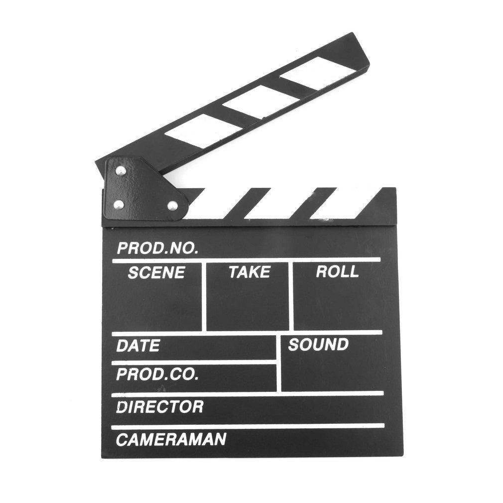 Director Video Scene Clapperboard TV Movie Clapper Board
