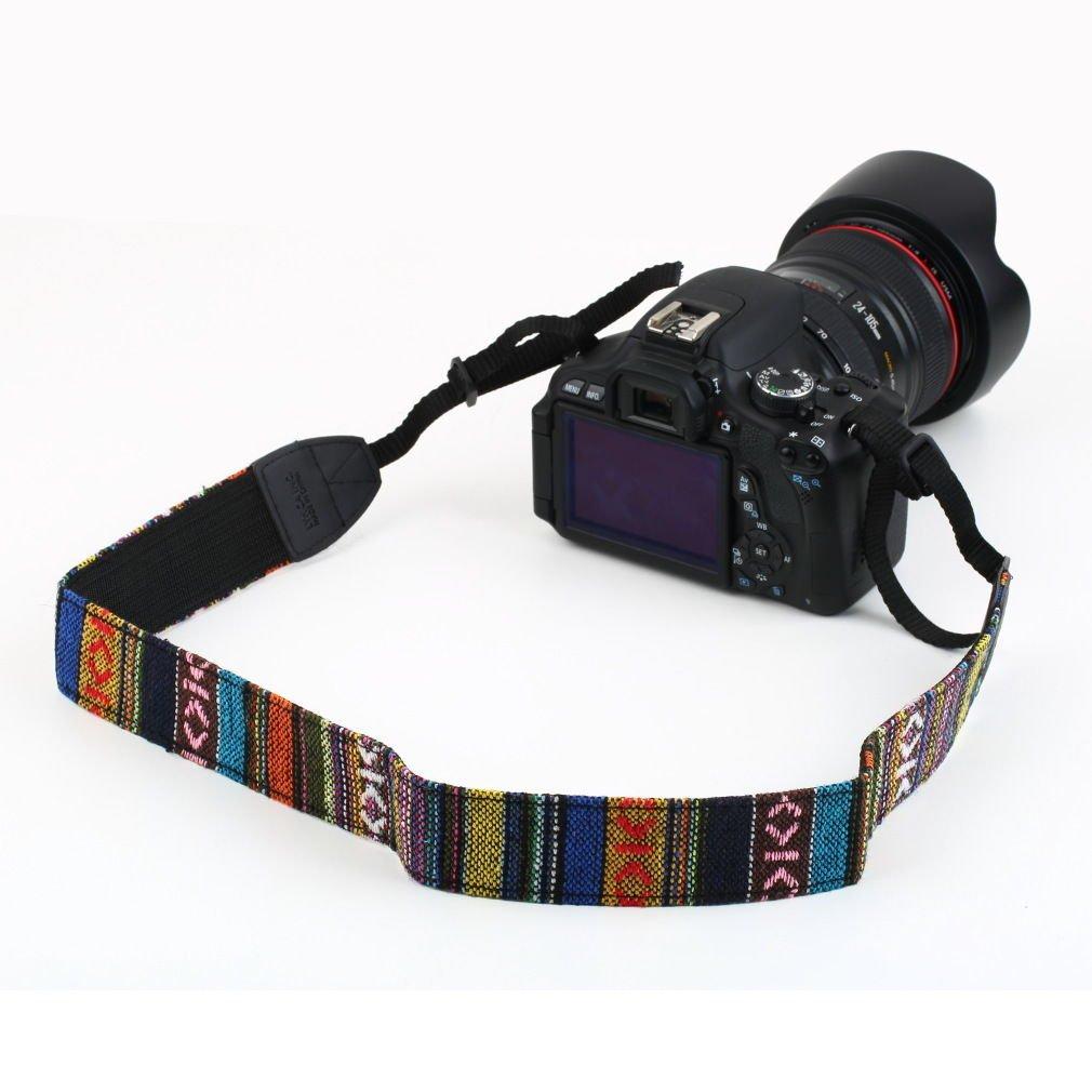 Vintage Camera Shoulder Neck Strap For SLR DSLR Nikon Canon Sony Panasonic