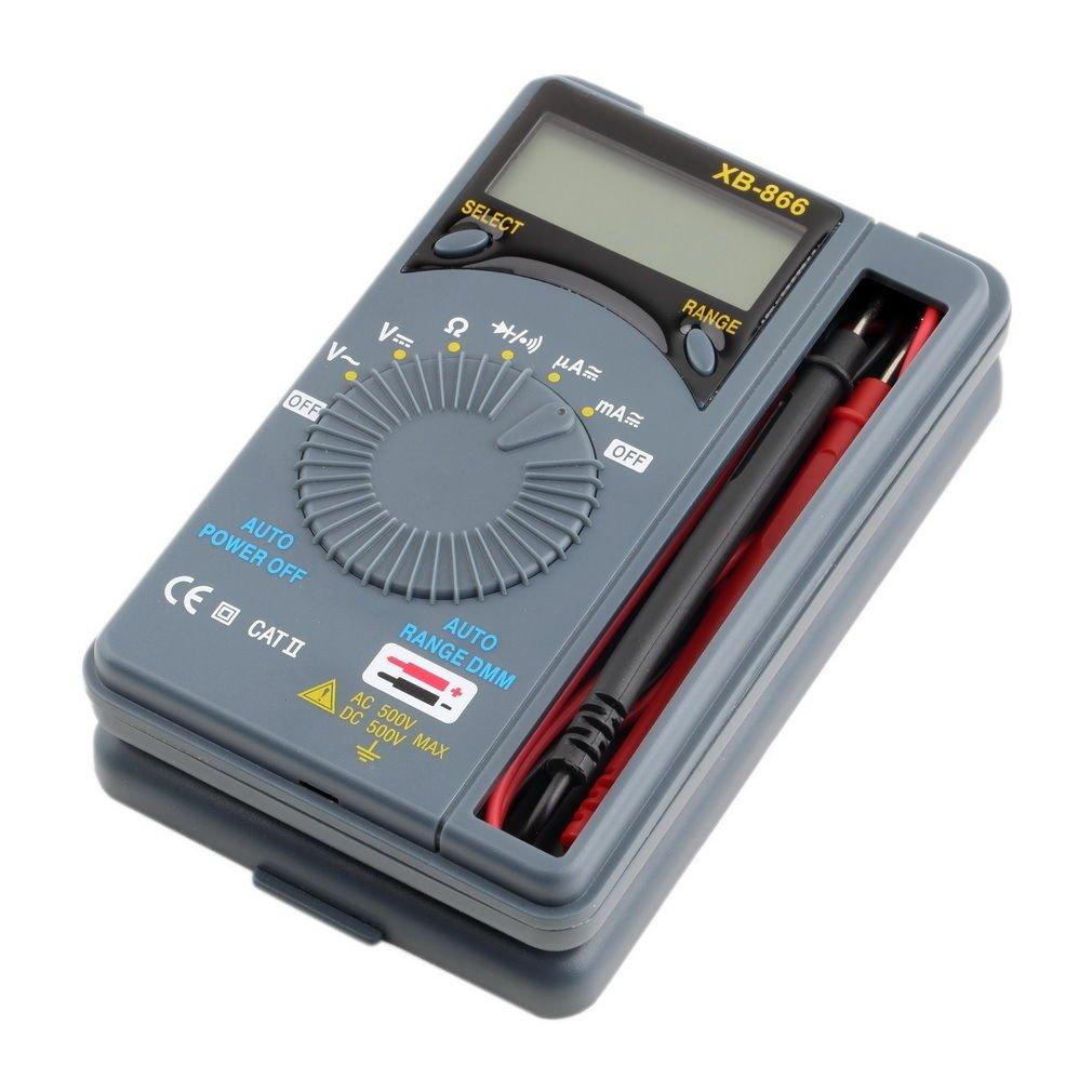 LCD Mini Auto Range AC/DC Pocket Digital Multimeter Voltmeter Tester Tool