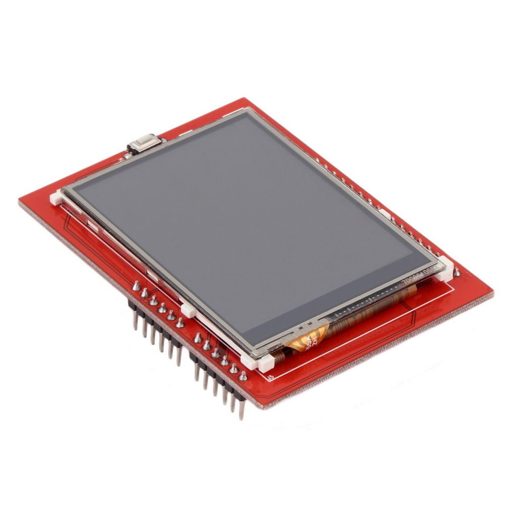 "2.4"" TFT LCD Shield SD Socket Touch Panel Module for Arduino UNO R3"