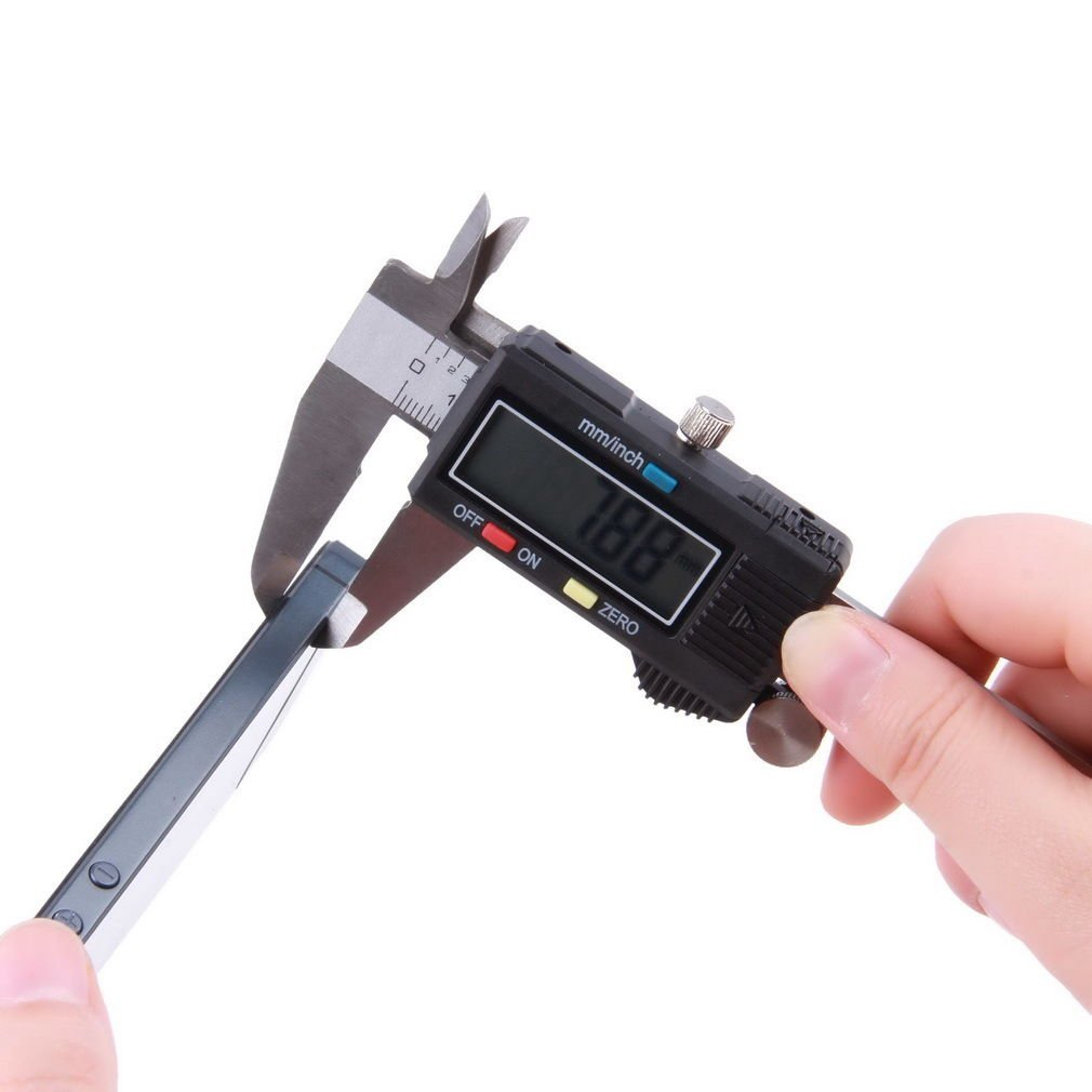 "150mm 15cm 6"" Electronic Digital LCD Steel Vernier Caliper Gauge Micrometer"