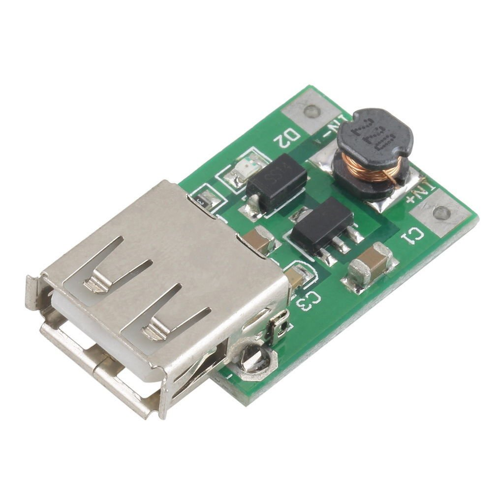 DC-DC Converter Step Up Boost Module 2-5V to 5V 1200mA 1.2A for Phone