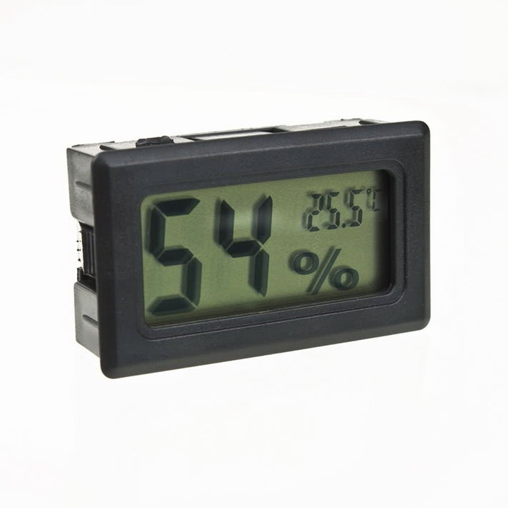 Mini Thermometer Hygrometer Temperature Gauge Humidity Meter Digital LCD Monitor