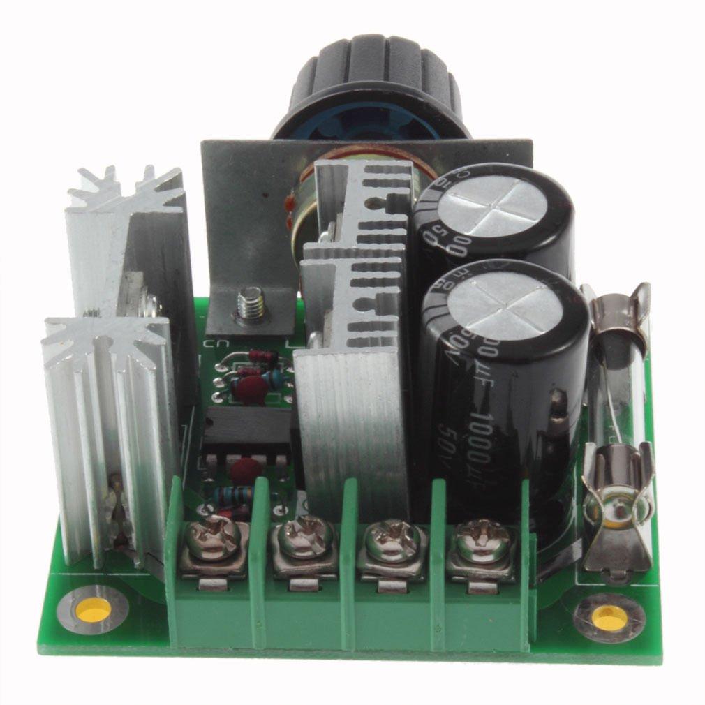 12V-40V 10A Pulse Width Modulation PWM DC Motor Speed Control Switch 13KHz