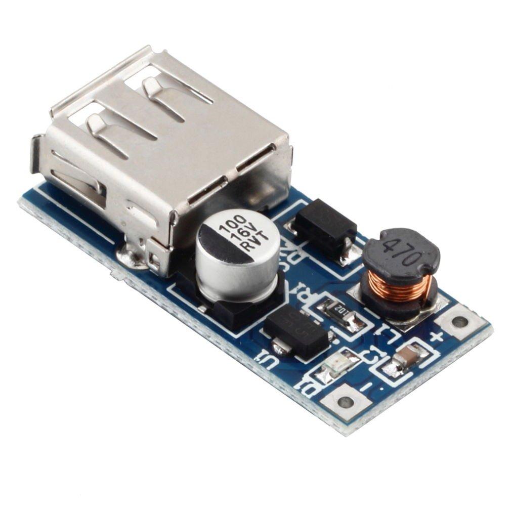 0.9V-5V to 5V DC-DC Booster Module USB Mobile Step-up Power Supply Module