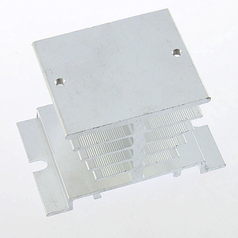 Aluminum Heat Sink For Solid State Relay SSR Small Type Heat Dissipation