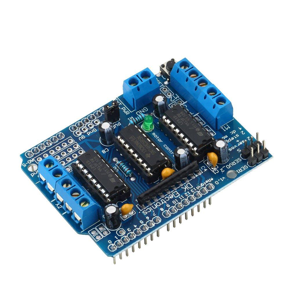 Motor Drive Expansion Shield Board Module L293D For Arduino Duemilanove Mega