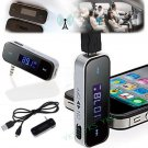3.5mm In-car Wireless Fm Transmitter for Phone 4S 5 Pod Touch Galaxy S2 MP3      JY6