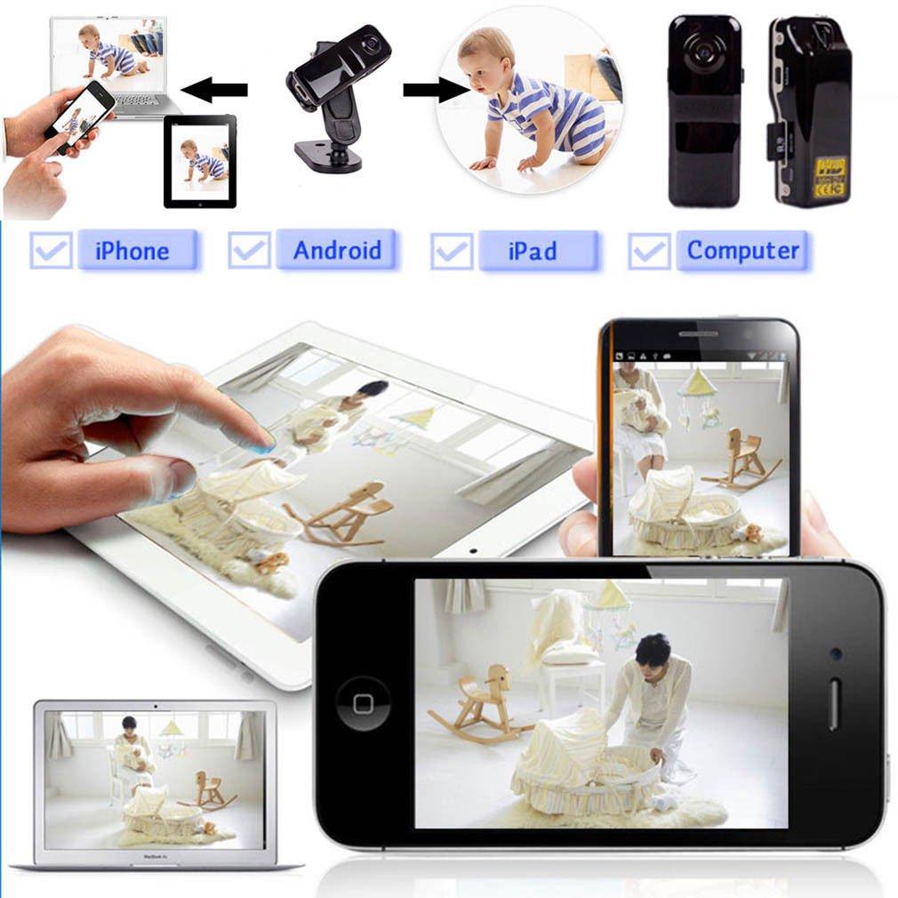 Android iPhone PC Mini Wifi IP Wireless Surveillance Camera Remote Cam                 JY6
