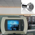 "2.4"" LCD Visual Monitor Door Peephole Peep Hole Wireless Viewer Camera Video               MN4"