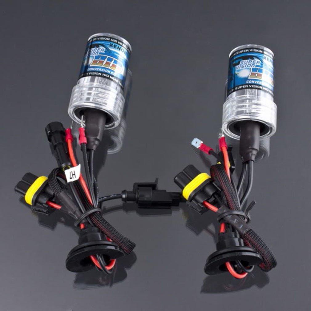 2X HID Xenon Car Auto Headlight Light Lamp Bulb Bulbs H7 6000K 12V 35W 3000LM            LP4