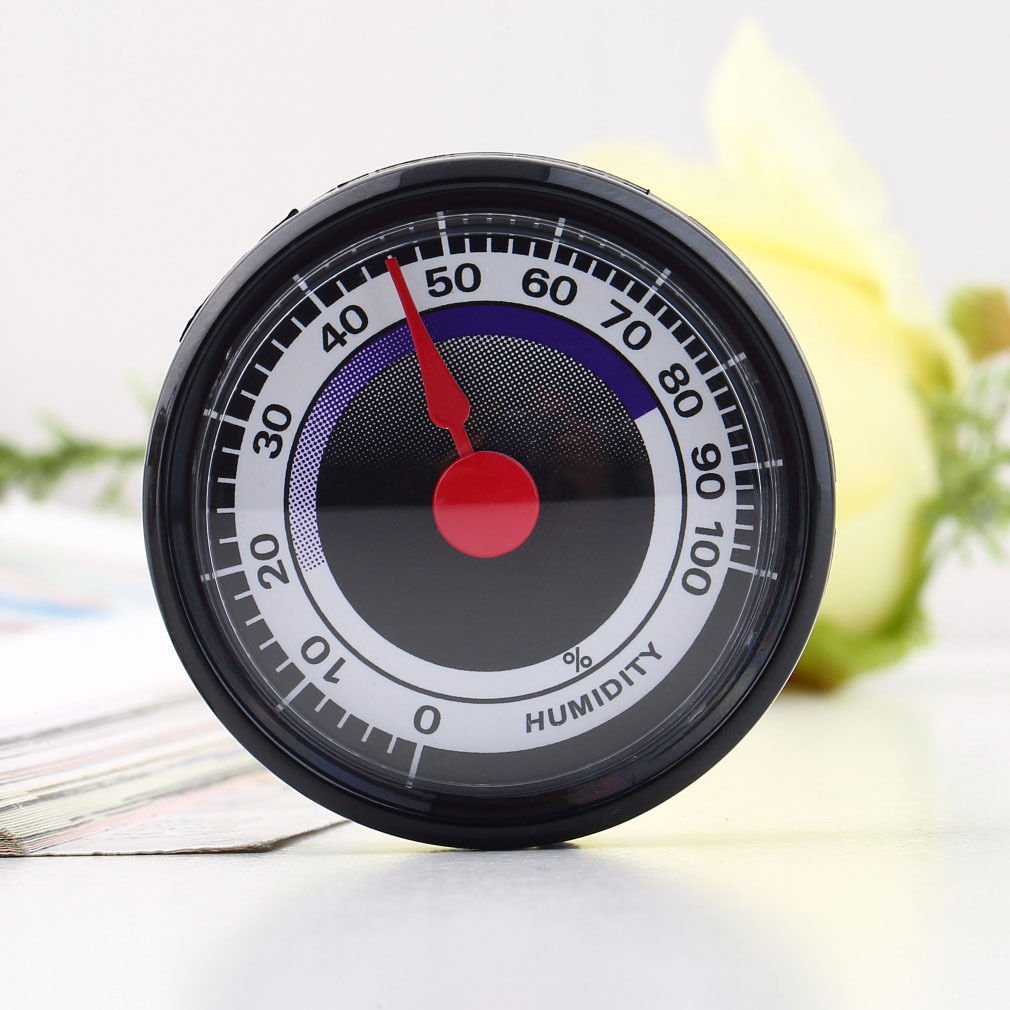 Analog Mini Power-Free Hygrometer Humidity Meter Indoor Outdoor                   SW3