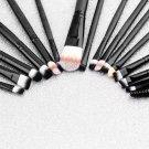 20 Pcs Makeup Set Powder Foundation Eyeshadow Eyeliner Lip Cosmetic Brushes        PMU5