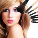 8 PCS Pro Makeup Brush Set Cosmetic Tool  Beauty Brushes           GGT6
