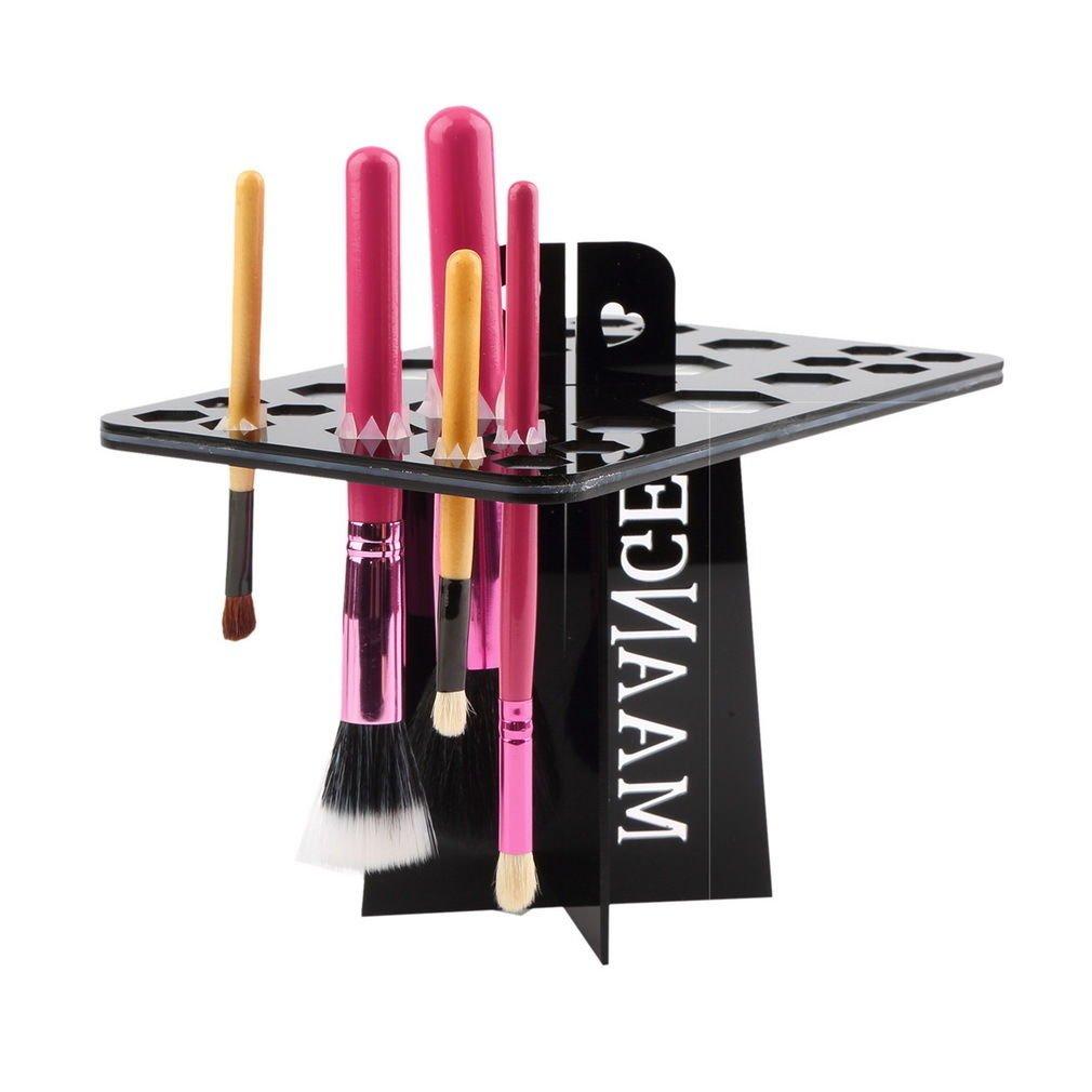 Makeup Folding Collapsible Air Drying Makeup Brush Organizing Tree Rack Holder          GGT6