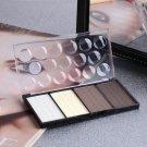 4 Color Shading Highlight Shadow Concealer Bronzer Palette Comestic Make Up          GGT6