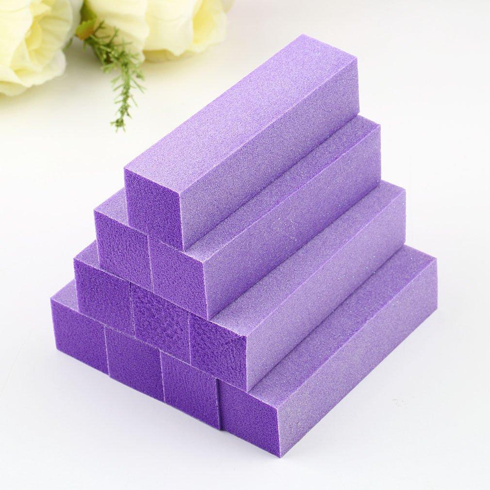 10Pcs Buffing Sanding Buffer Block Acrylic Pedicure Manicure Nail    GGT6