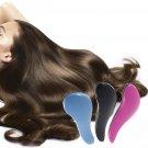 Hair Brush Comb Salon Styling Magic Detangling Handle Tangle Hairbrush   COLOR BLUE      KL4