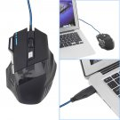 5500 DPI 7 Button LED Optical USB Wired Gaming Mouse Mice For Pro Gamer       CL9