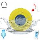 BTS - 06 Bluetooth Water Resistant Shower Speaker with Sucker  -  YELLOW NA0075604
