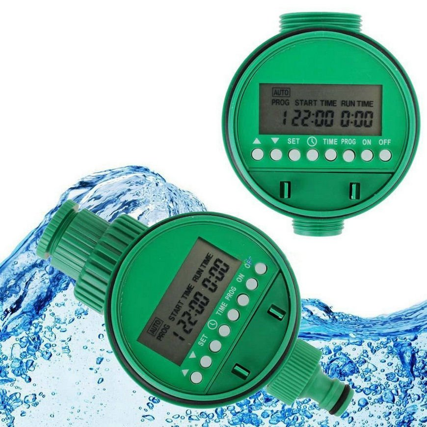 Home Water Timer Garden Irrigation Timer Controller Set Water Programs     VW1