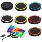 QI Wireless Battery Charger Charging Pad for Samsung Galaxy S3 S4 S5 Note     VW1