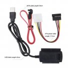 SATA/PATA/IDE Drive to USB 2.0 Adapter Converter Cable for 2.5/3.5 Hard Drive     VW1