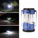 Telescopic Camping Lantern Bivouac Hiking Light 12 LED Portable with Compass         VW1