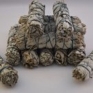 "California White Sage Smudge Incense 4""- 4 1/2"" Bundle (12 pcs)   VW1"