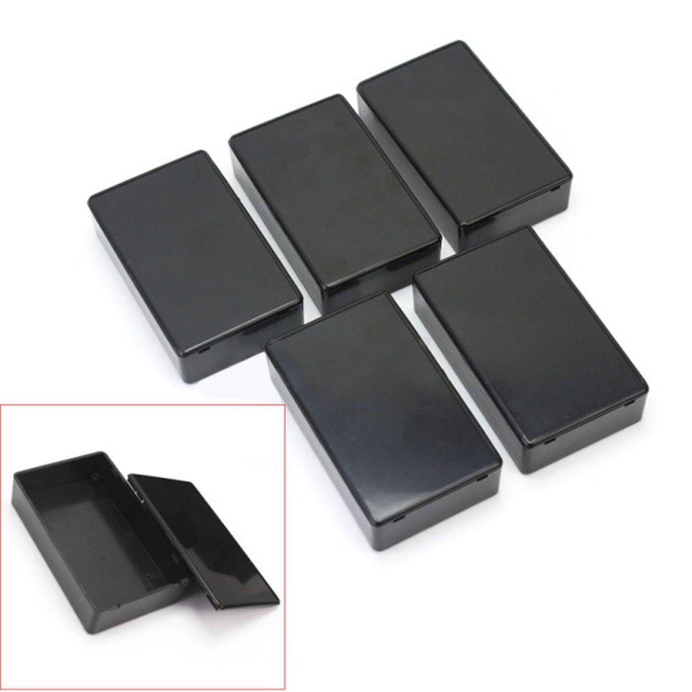 5Pcs Plastic Electronic Project Box Enclosure Instrument Case 100x60x25mm       VW1