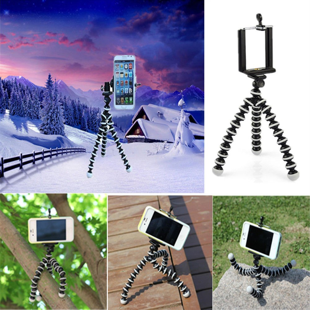 Generic Mini Flexible Tripod Stand Mount Holder for iPHONE ...