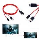 """HDMI TV AV Adapter Cable For Samsung Galaxy Tab SM-T231 7.0""""      V1"""