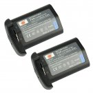 DSTE Decoded 4400mAh 2PCS LP-E4 Battery For Canon EOS 1D Mark III Mark 4 Camera           VW0