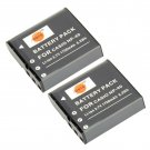 DSTE 2PCS 1700mAh NP-40 Battery for Casio EX-Z40 Z57 Z50 Z55 Pentax XG-1 LB-060             VW0