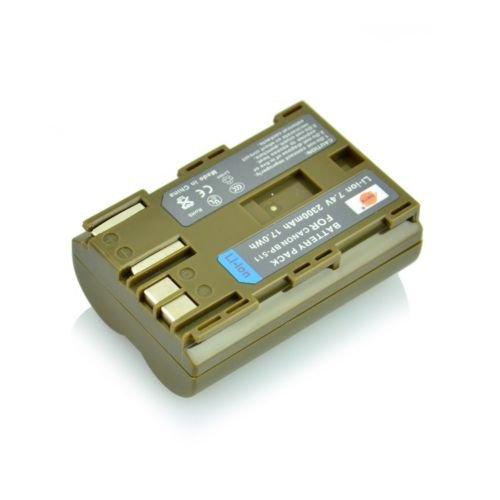 DSTE 2300mAh BP-511 BP511 Full Coded Battery for Canon EOS 20D 30D 40D 50D 5D            VW2