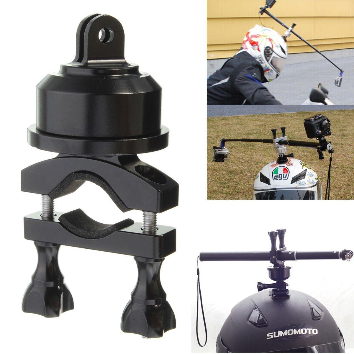 360 Rotating Swivel Helmet Self Shot Pole Mount Adapter For Gopro 3 3+ 4 Session        VW2