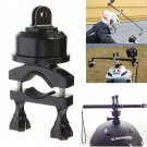 360 Rotating Swivel Helmet Self Shot Pole Mount Adapter For Gopro 3 3+ 4 Session        VW2
