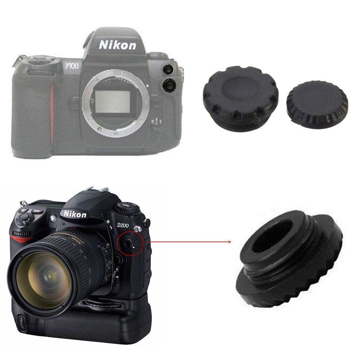 Remote + Flash PC Sync Terminal Cap Cover For Nikon D200 D2X F5 F90X Fuji S3 S5          VW2