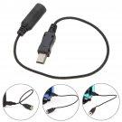 3.5mm Jack Mini USB Microphone Mic Adaptor Cable Cord For GoPro HD Hero 4 3+ 3     VW2