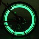 2Pc LED Motorcycle Cycling Bike Bicycle Wheel Tire Valve Flashing Light Car Lamp     VW2