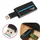 Portable High Speed 4 Ports USB 3.0/2.0 External Hub Adapter for PC Laptop     VW4