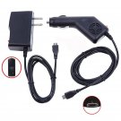 2A Car Charger+AC/DC Wall Power Adapter For ASUS Transformer Book T100 ta Tablet   B12