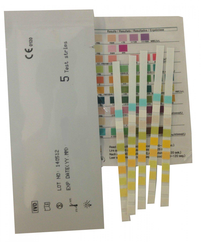 10 (2x5) HOME KETONE/KETOSIS URINE TEST/TESTING KITS - DIET WEIGHT LOSS TOOL      CR1