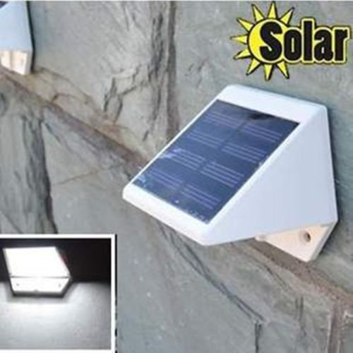 4 LED Solar Powered Stairs Fence Garden Security Lamp Outdoor Waterproof Light    AW3
