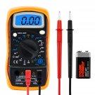 Digital Voltmeter Ammeter Ohmmeter Multimeter Volt AC DC Tester Meter      AW3