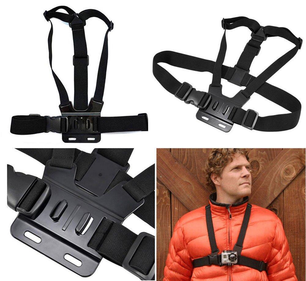 Adjustable Shoulder Chest Strap Mount Harness Belt Accessory For GoPro Hero     FR6