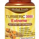 95% CURCUMINOID TURMERIC 3000 EXTREME LONGA LINN FRESH TUMERIC PILLS ANTIOXIDANT     RT5